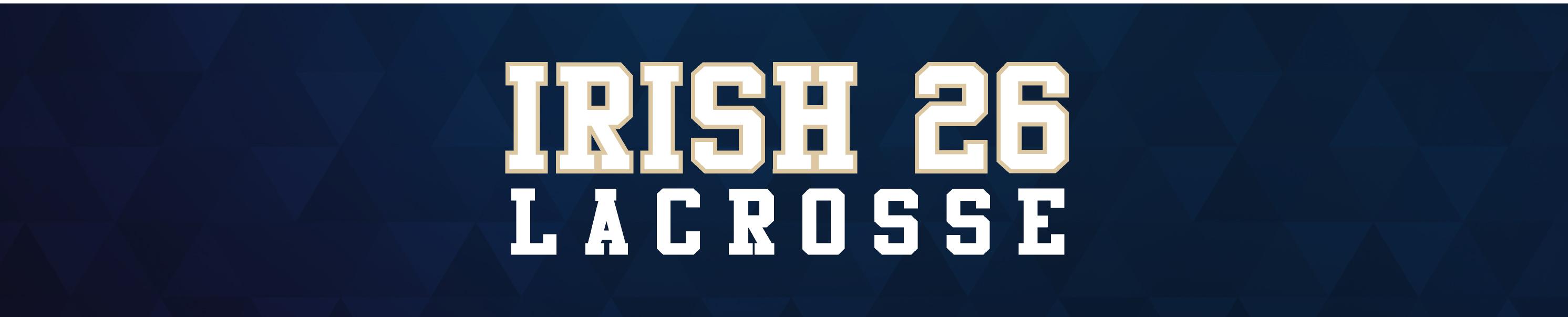 Irish 26 Lacrosse