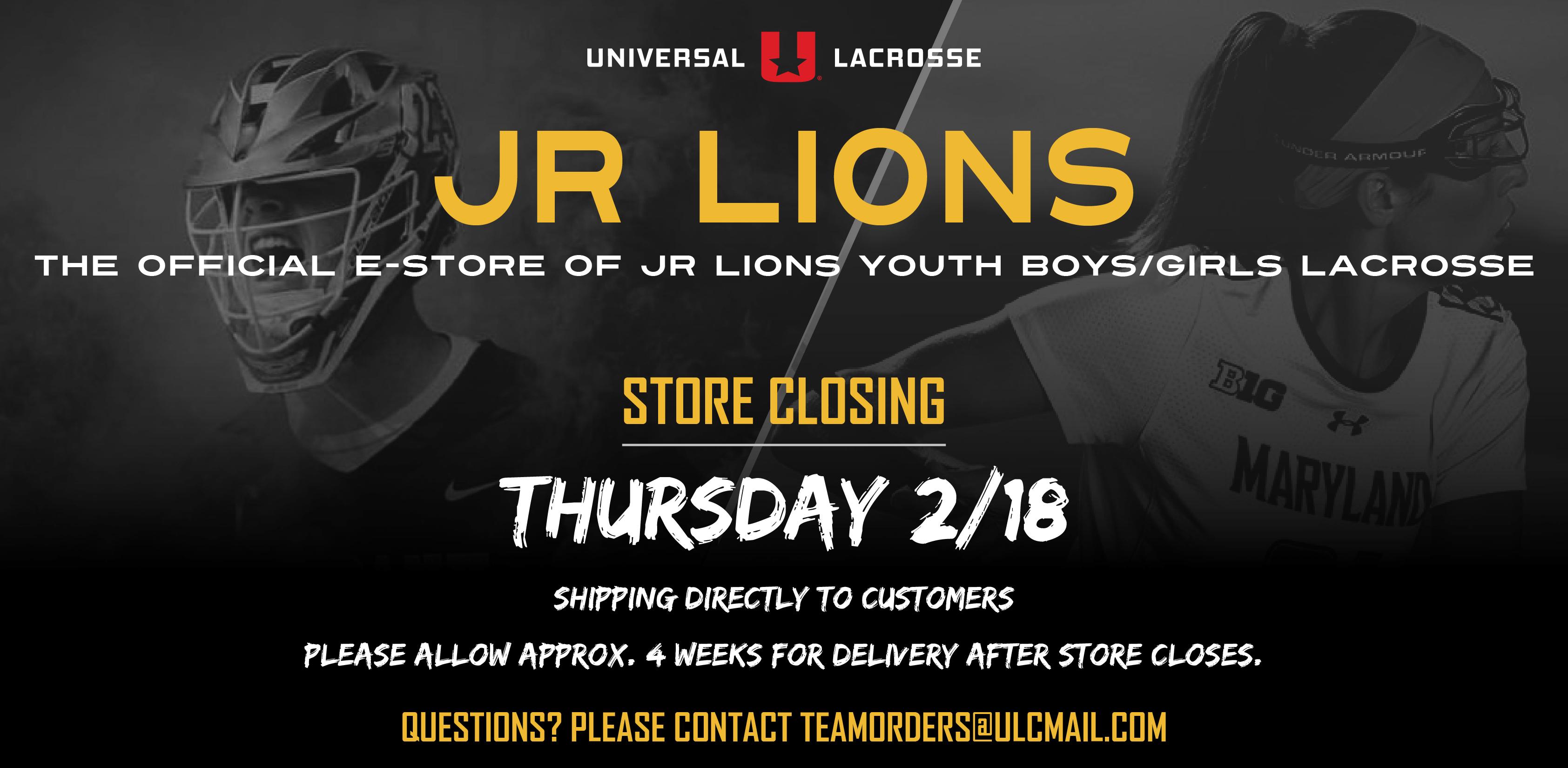 Junior Lions Lacrosse