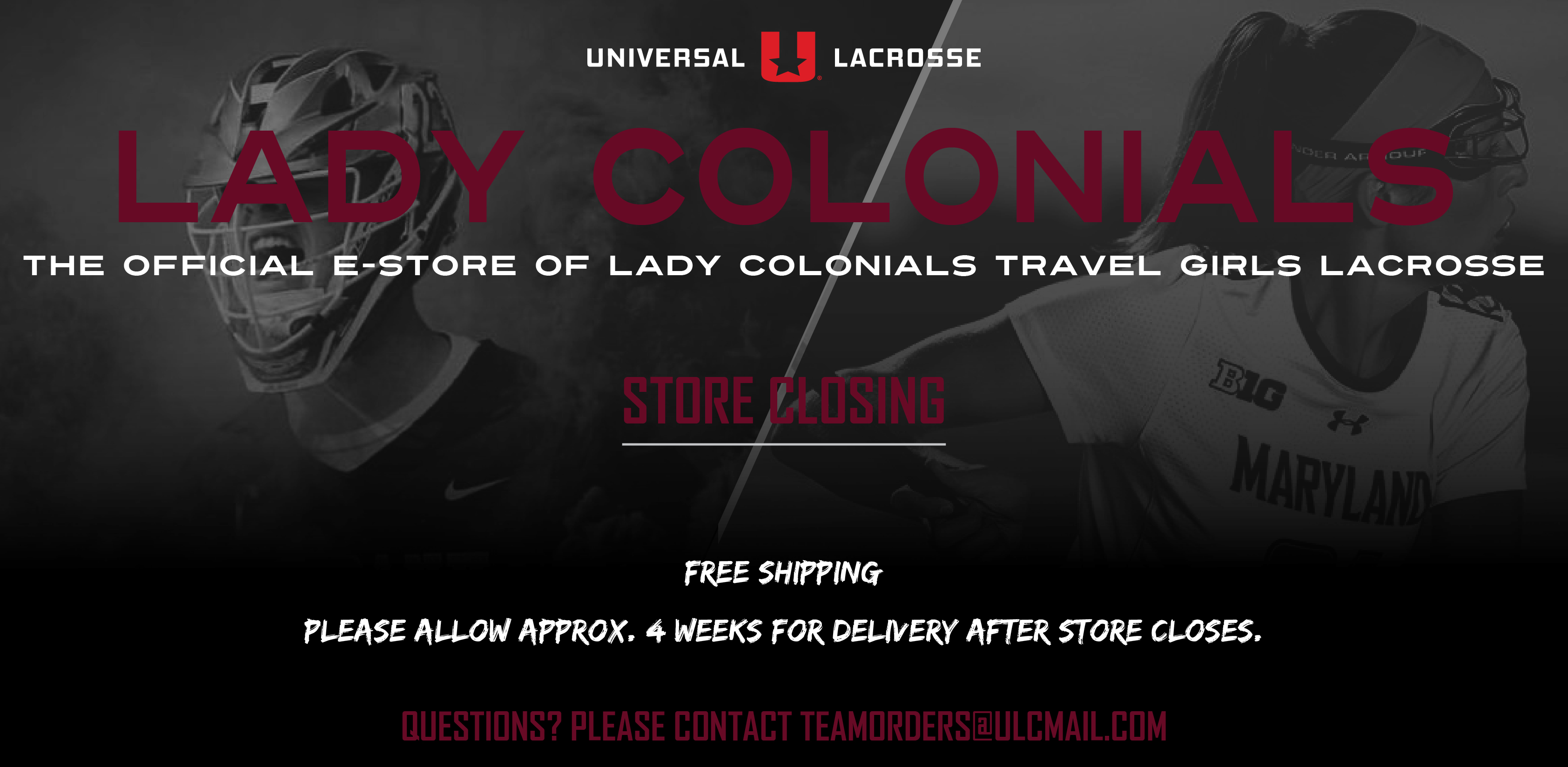 Lady Colonials Girls Travel Lacrosse