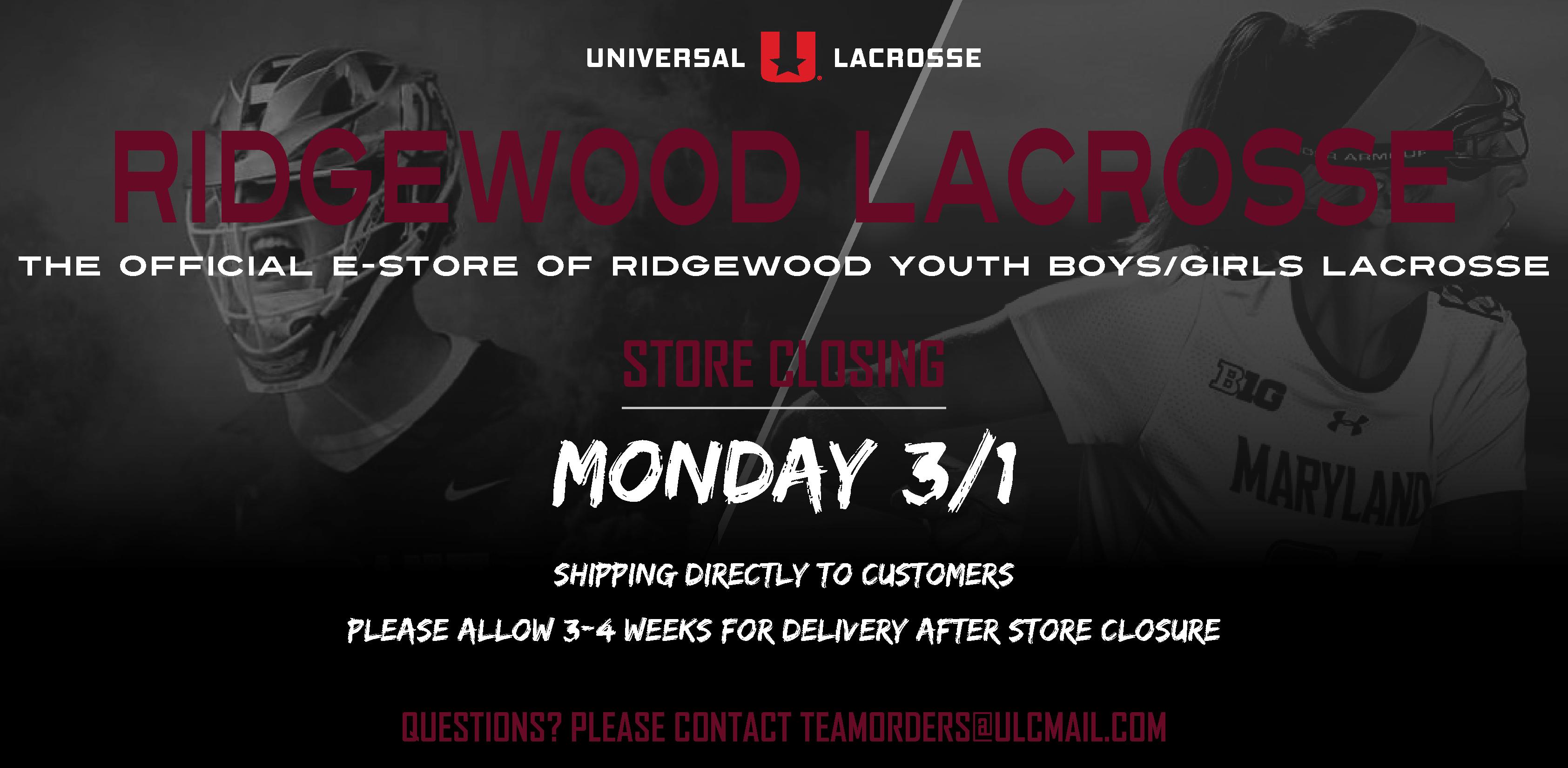 Ridgewood Youth B/G Lacrosse