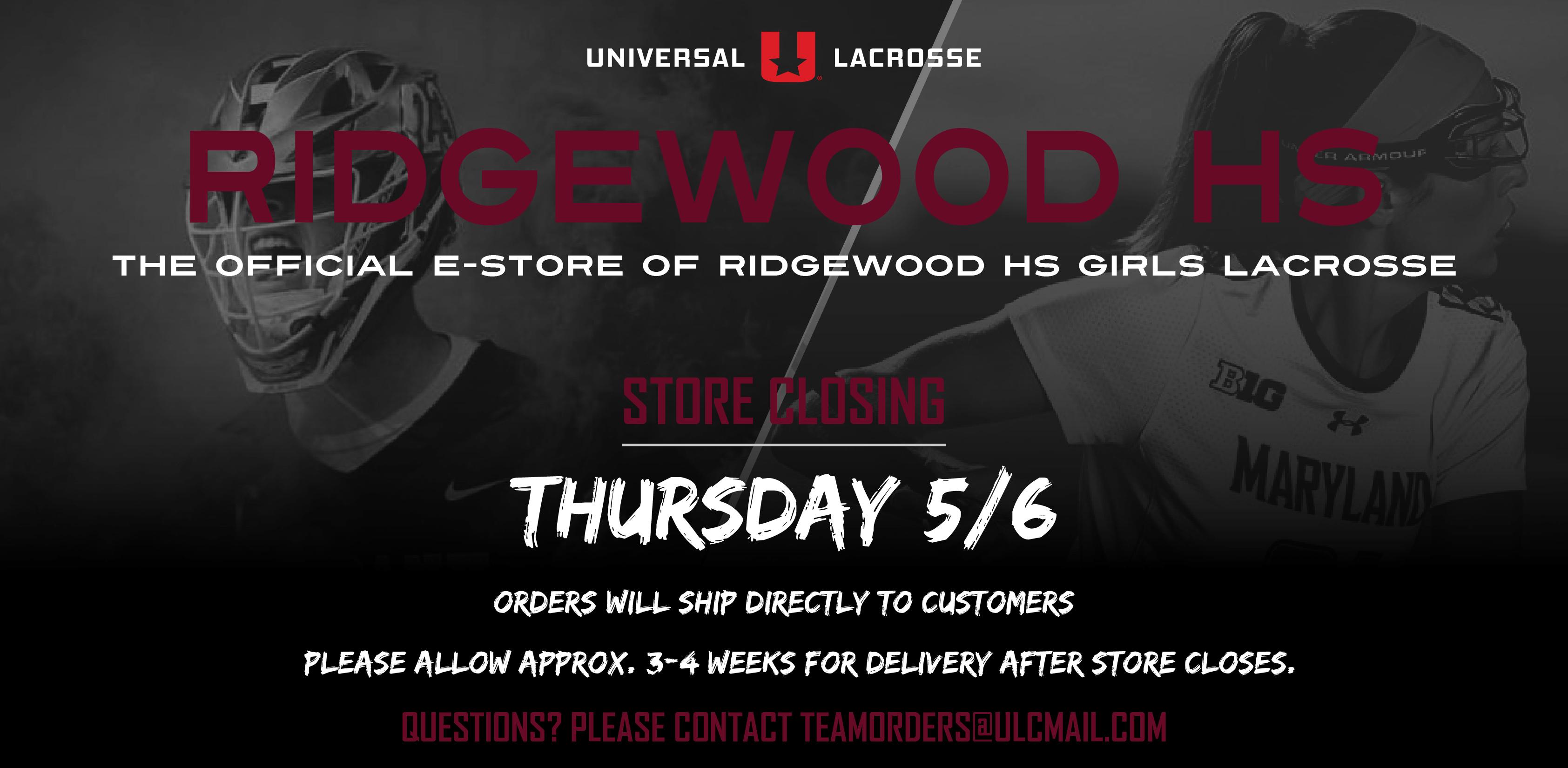 Ridgewood HS Girls Apparel