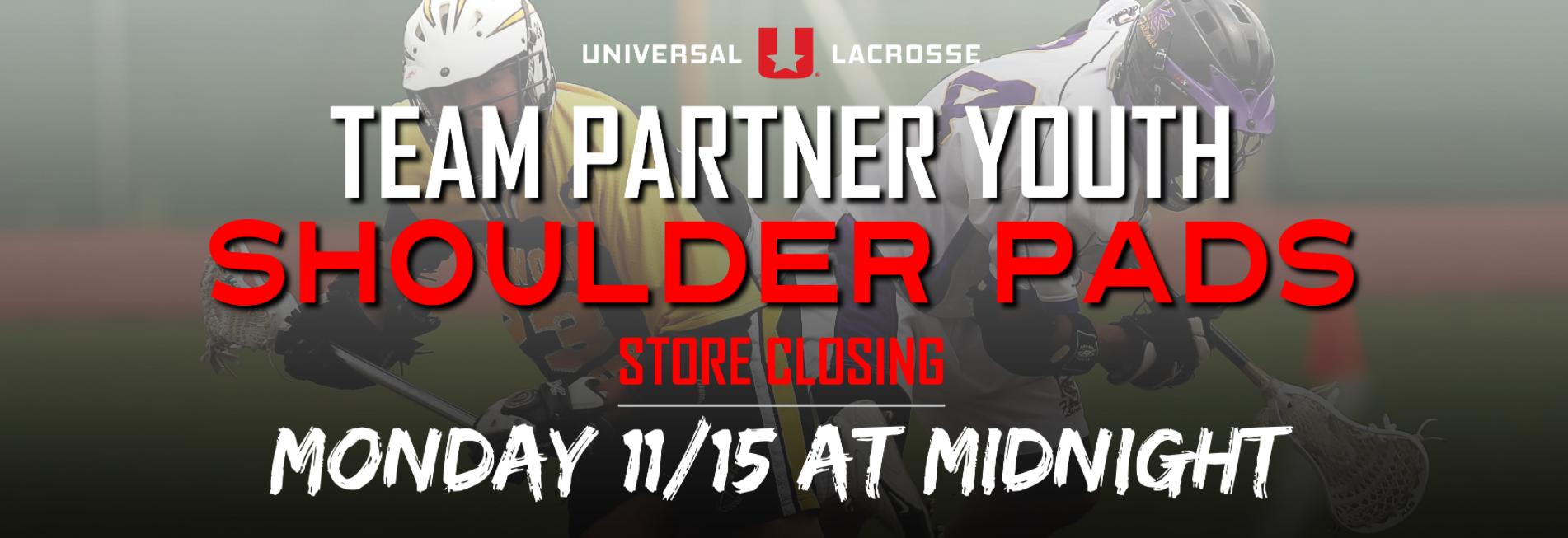 Team Partner Youth - Shoulder Pads