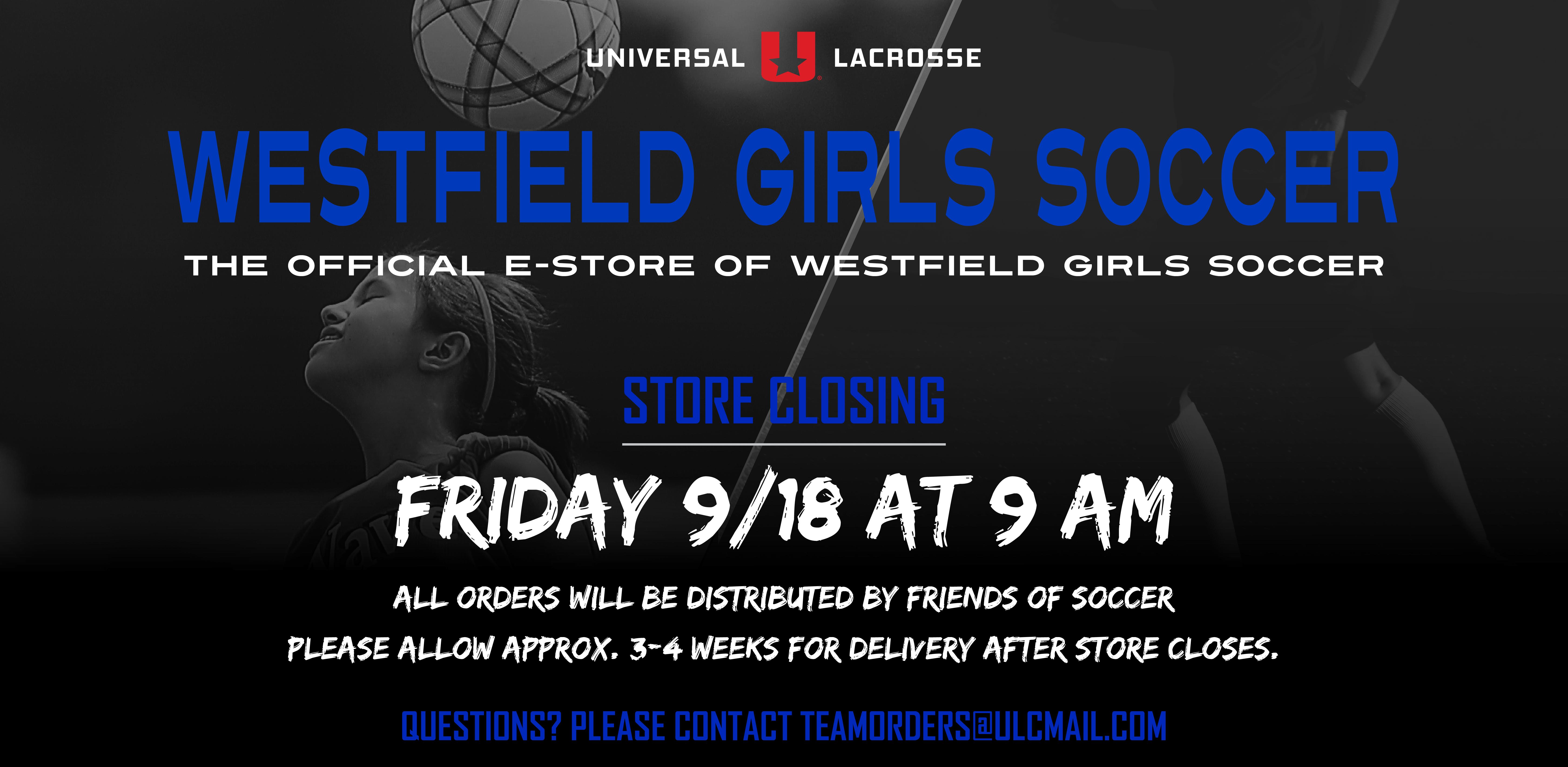 Westfield Girls Soccer