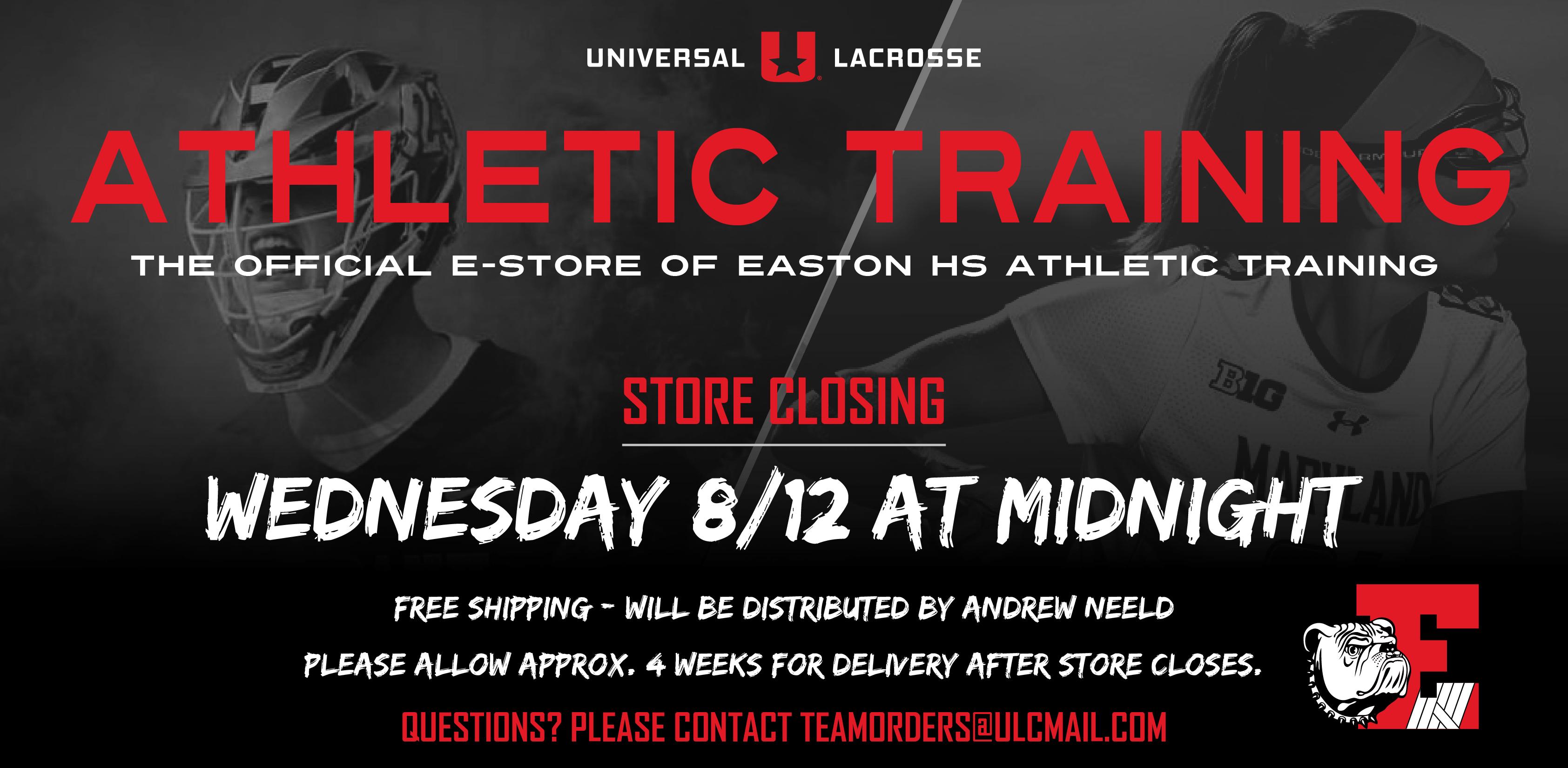Easton Athletic Training