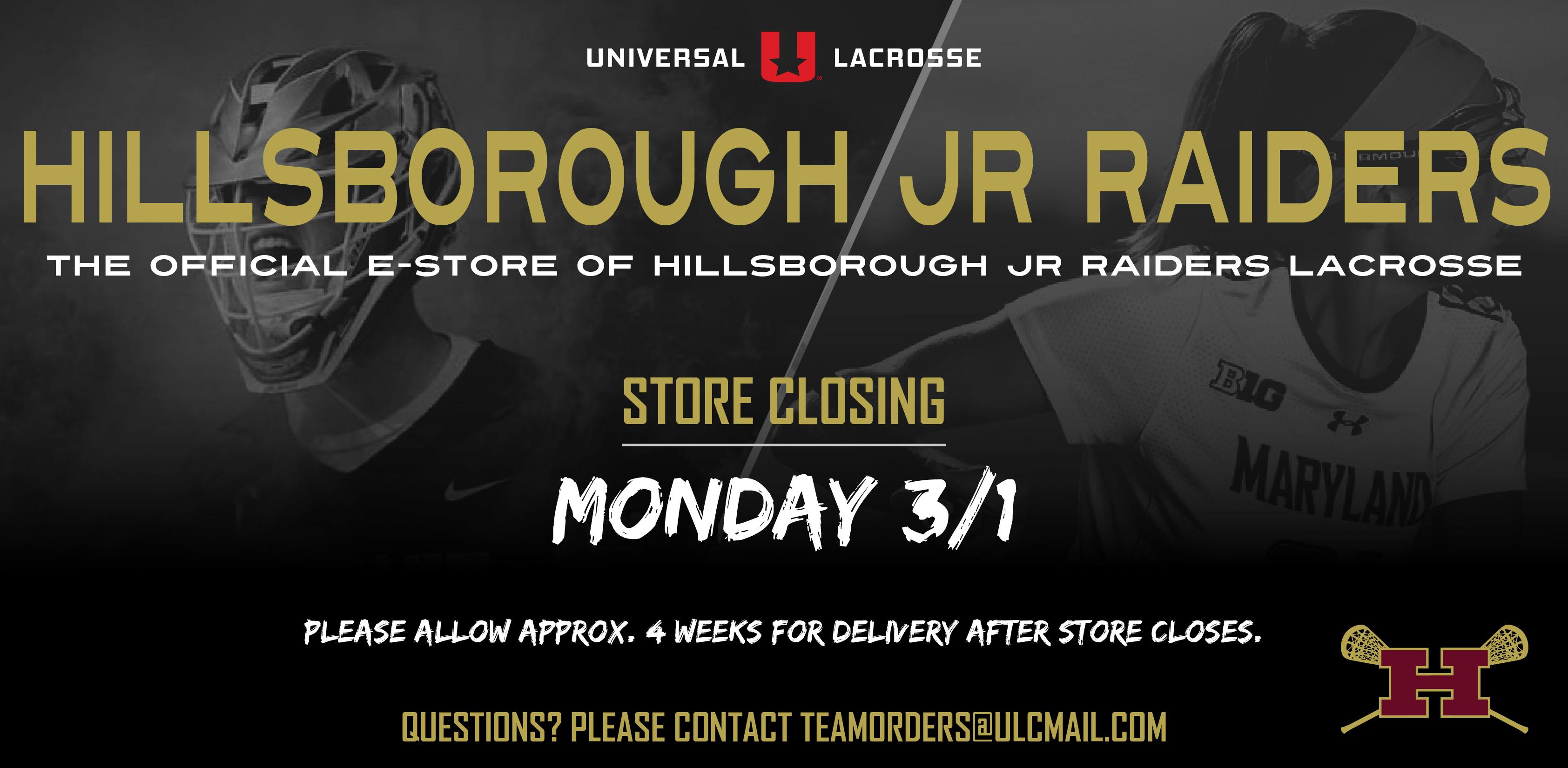 Hillsborough Jr Raiders Lacrosse
