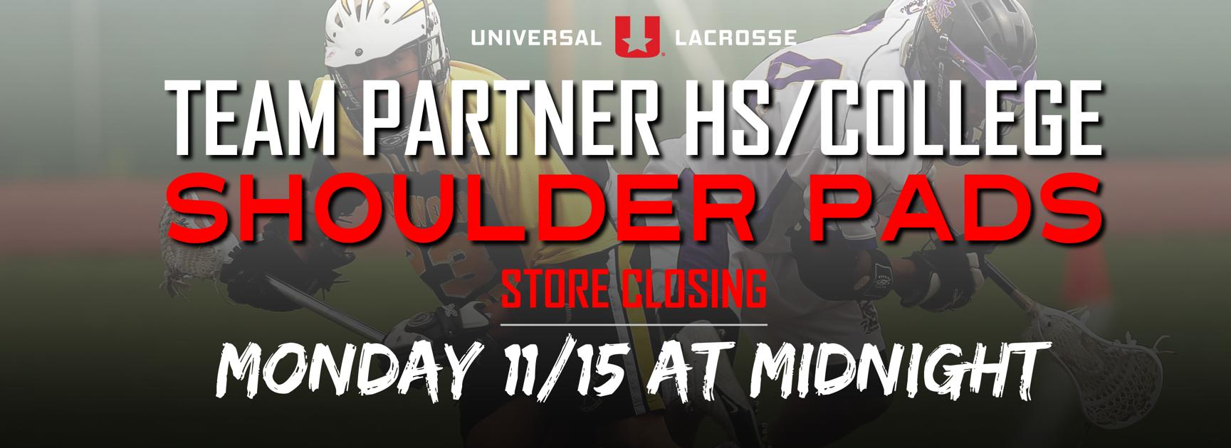 Team Partner HS/College - Shoulder Pads
