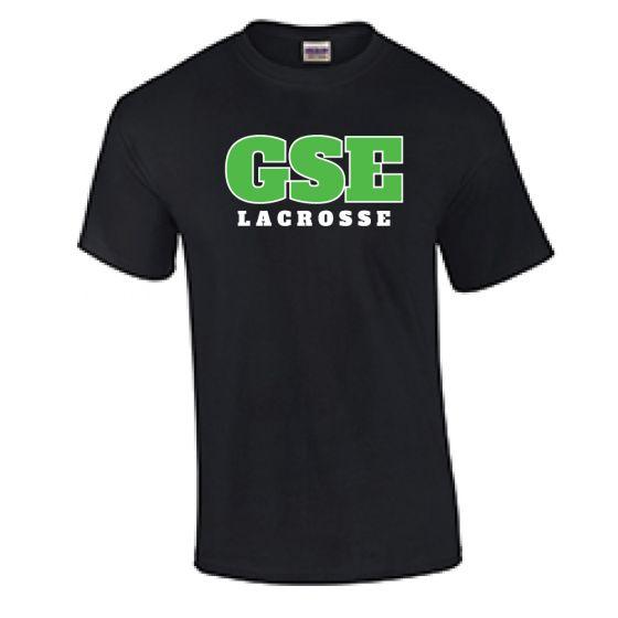 GSE SS Cotton Tee-Black