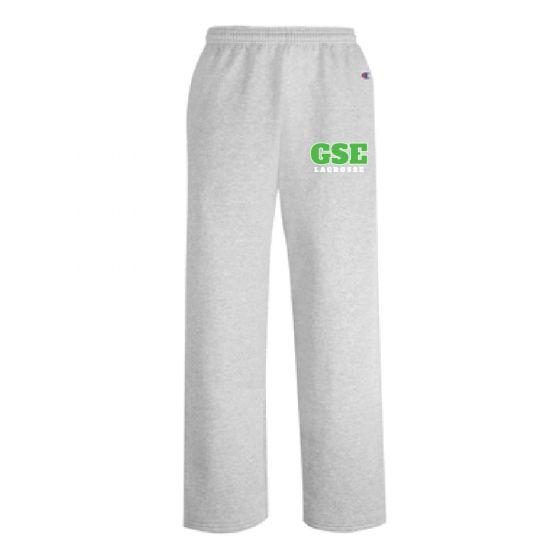 GSE Champion Open Bottom Sweatpants w/Pockets