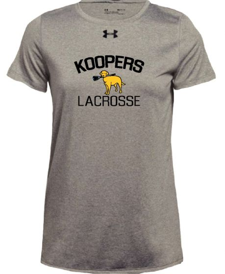 KLC Grey UA Womens Locker Tee