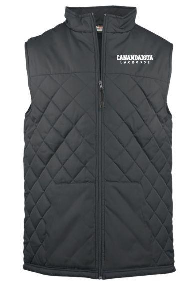 CALAX Grey Quilted Vest