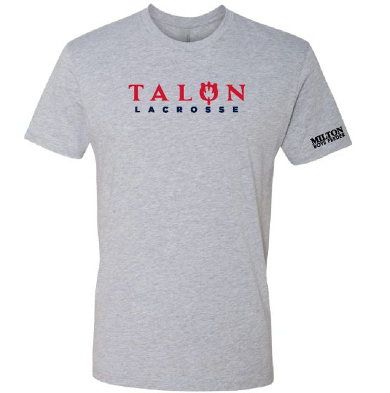 Talon Grey Cotton Tee