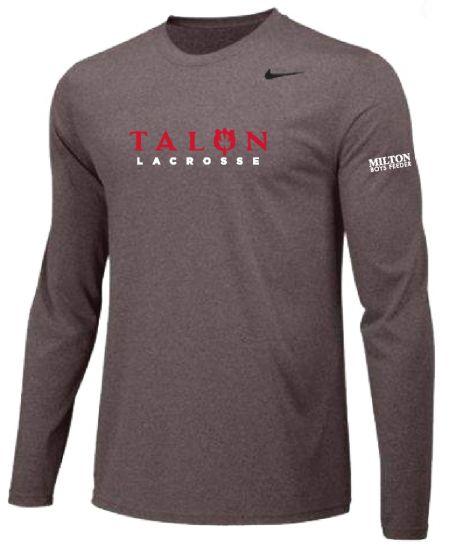 Talon Grey Nike Legend LS Tee