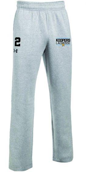 KLC Grey UA Hustle Fleece Pant