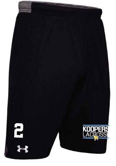 KLC Black UA Pocketed Locker Short