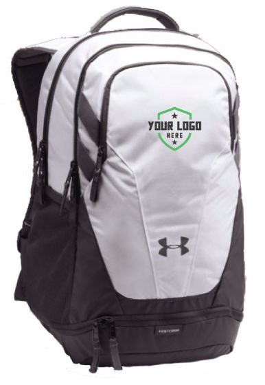 Demo White UA Hustle 3.0 Backpack