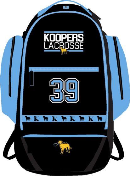 KLC Custom Sublimated Backpack