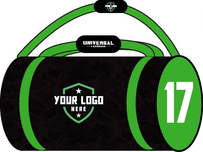 Demo Custom Sublimated Duffle Bag
