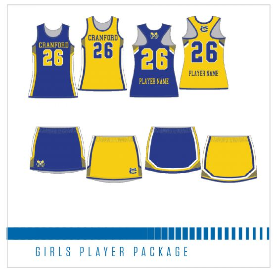 Cranford Girls Lacrosse Player Package