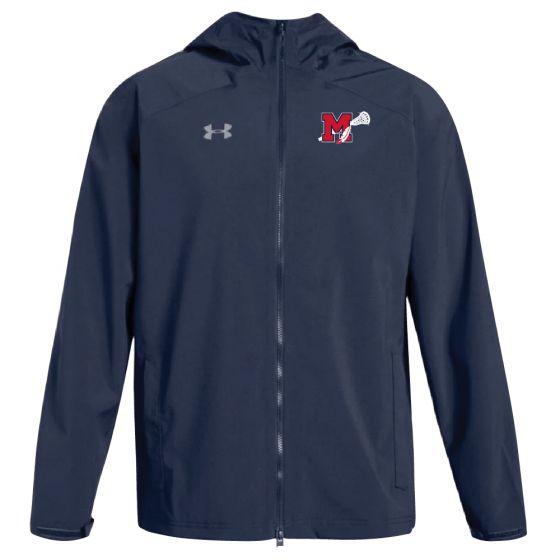 Manalapan HS Lacrosse UA Storm Rain Jacket