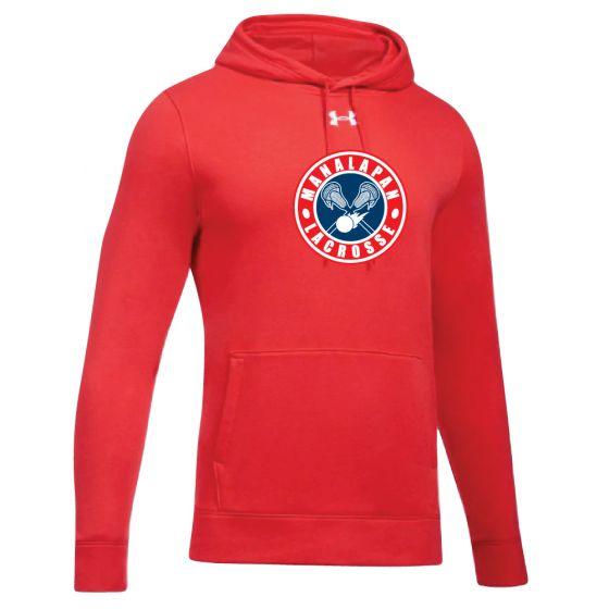 Manalapan Youth Lacrosse UA Hoodie - Red