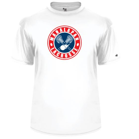 Manalapan Youth Lacrosse Badger SS Performance Tee