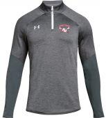 BHL Grey UA Mens Qualifier Hybrid 1/4 Zip