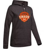 Chaos Grey UA Womens Hustle Fleece Hoody