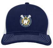 Wheeler Navy Trucker Hat