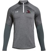 MLBB Grey UA Mens Qualifier Hybrid 1/4 Zip