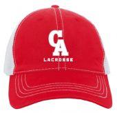 CALAX Red Vintage Trucker Hat