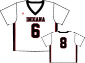 Indiana HS Lacrosse White Sleeved Jersey