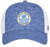 SouthSL Blue Diamond Mesh Hat