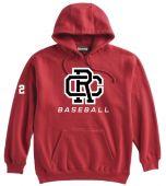 CRB Red Super 10 Hoodie
