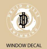 DHGC Custom Window Decal