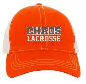 Chaos Orange Vintage Trucker Hat