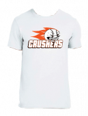 Crushers White Cotton Tee