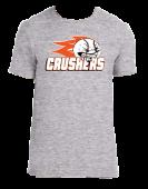 Crushers Grey Cotton Tee