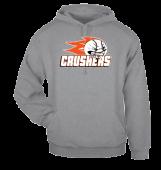 Crushers Grey Hoodie