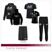 "DBP Players Pack with 10"" Shorts"