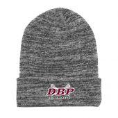 DBP Lacrosse Grey Roll Up Beanie