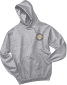 LAF Jerzees Unisex Hooded Sweatshirt Grey