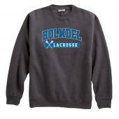 Holmdel Lacrosse Crewneck Sweatshirt - Carbon