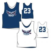 Lake Houston Lacrosse Practice Pinnie - Navy