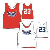 Lake Houston Lacrosse Practice Pinnie - Red
