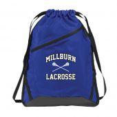 Millburn HS Zip It Cinch Sack
