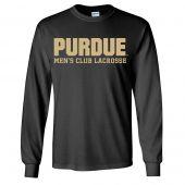 Purdue University Mens Lacrosse LS Cotton Tee