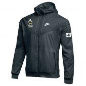 Purdue University Mens Lacrosse Nike Windrunner Jacket