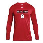Bucks Select UA Red LS Locker Tee