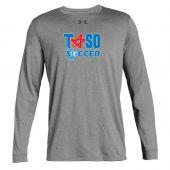 TASO Soccer Grey UA LS Tee