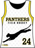 Panthers Girls Sublimated Racerback